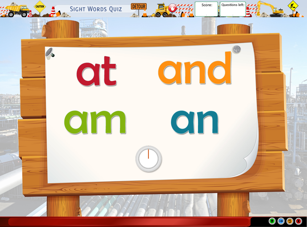 Sight Words Quiz