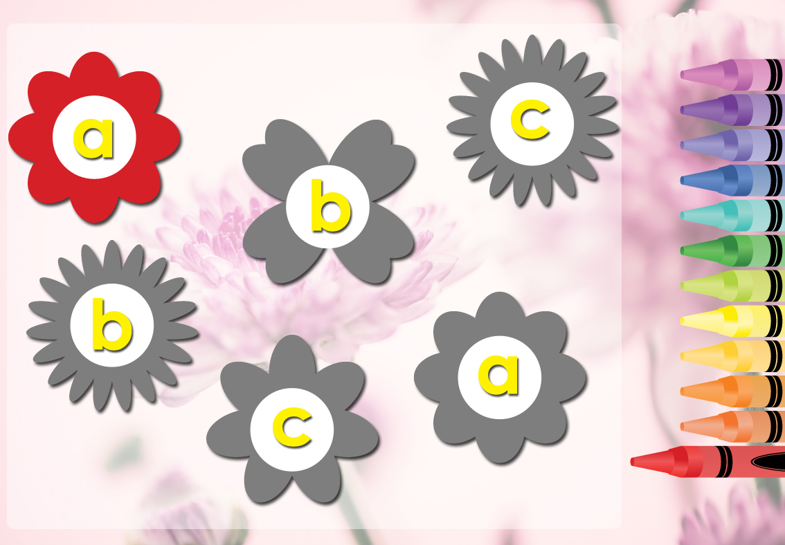 Flowering Alphabet