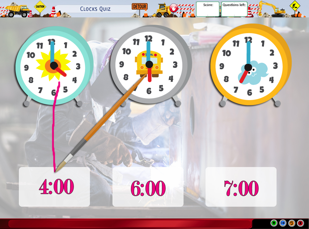 Clocks Quiz