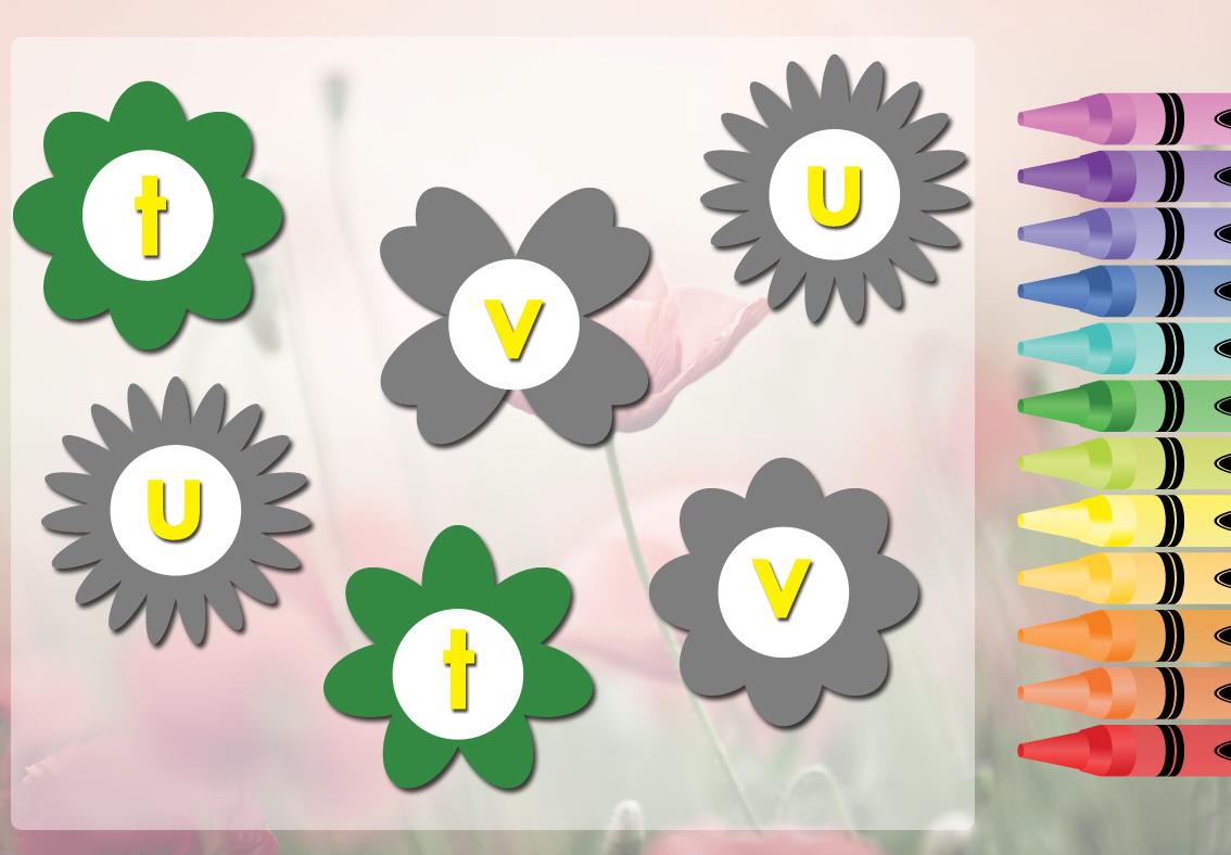 Flowering Alphabet 2