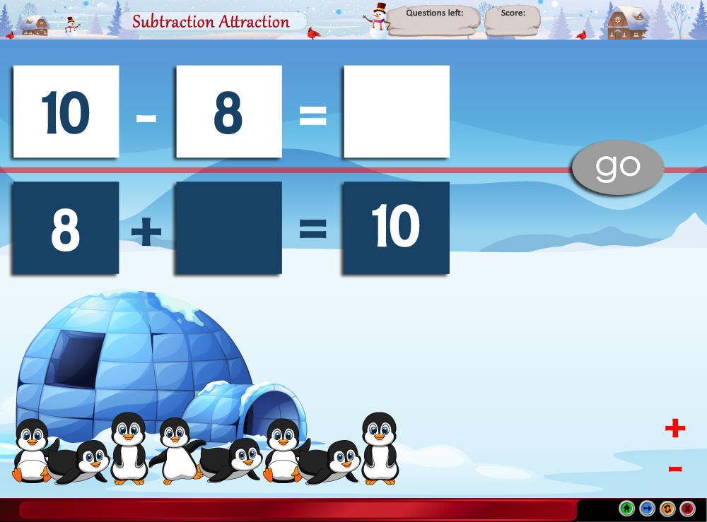 Subtraction Attraction