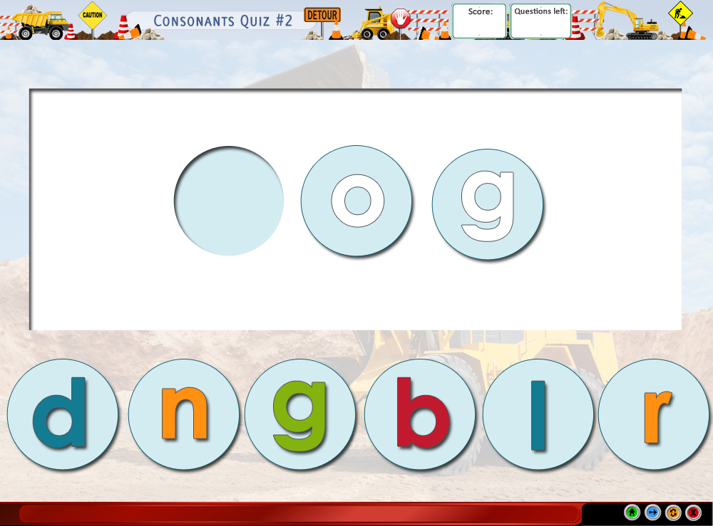 Consonants Quiz #2
