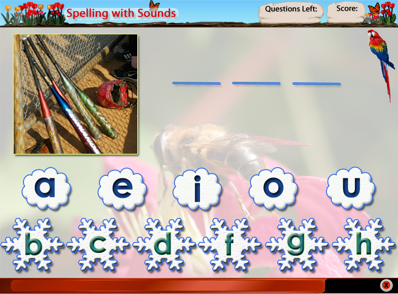 Spelling With Letters